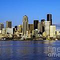Seattle Skyline by Bob Phillips