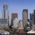 Seattle Skyline by Brenda Kean