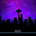 Seattle Skyline by John Wills
