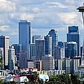 Seattle Skyline Panorama by Ricardo J Ruiz de Porras