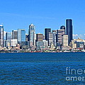 Seattle Skyline by Sean Griffin