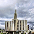 Seattle Temple by Richard Lynch
