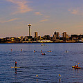 Seattle Waterfront 2 by Cathy Anderson