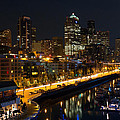 Seattle Waterfront by Bob Stevens