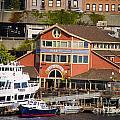 Seattle Waterfront by Brenda Kean