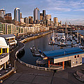 Seattle Waterfront by Mike Reid