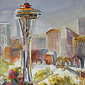 Seattle's Icon by Lola Waller