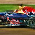 Sebastian Vettel by Blake Richards