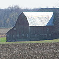Secluded Barn by Tina M Wenger