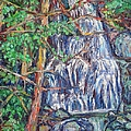 Secluded Waterfall by Kendall Kessler