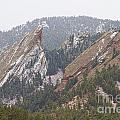 Second And Third Flatirons Boulder Colorado by James BO  Insogna