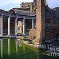 Second Century Villa Of Emperor Hadrian  by Bob Phillips