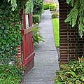 Secret Garden Door by Tikvah's Hope