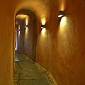 Secret Passageway In Lyon France by Allen Sheffield