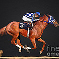 Secretariat And Turcotte by G Cannon