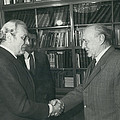 Secretary-general Visits Hungary by Retro Images Archive