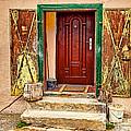 Secure Entrance by Les Palenik
