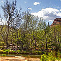Sedona Arizona Cathedral Rock Panorama by Gregory Dyer