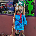 Sedona Arizona Grey Alien by Gregory Dyer