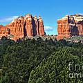 Sedona Arizona Mountains - 04 by Gregory Dyer