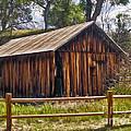 Sedona Arizona Old Barn by Gregory Dyer