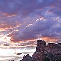 Sedona Arizona Sunset by Gregory Dyer
