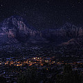 Sedona By Night by Lynn Geoffroy