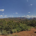 Sedona Panorama In 5 Pictures by Angela Stanton