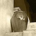 Sedona Series - Jug In Sepia by Ben and Raisa Gertsberg