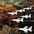 Sedona Thunderbirds by Benjamin Yeager