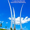 See America - United States Air Force Memorial by Ed Gleichman