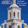 See America - Mission San Xavier Del Bac by Ed Gleichman