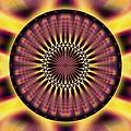 Seed Of Life Kaleidoscope by Derek Gedney