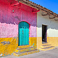 Seeing Pink In Latin America - Granada by Mark E Tisdale
