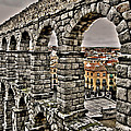 Segovia Aqueduct - Spain by Juergen Weiss
