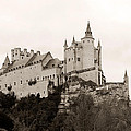 Segovia Castle  by Lorraine Devon Wilke