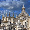 Segovia Gothic Cathedral by Ivy Ho