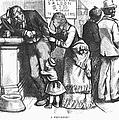 Segregated Saloon, 1875 by Granger
