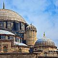 Sehzade Mosque 02 by Antony McAulay