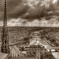 Seine From Notre Dame by Michael Kirk