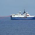 Seismic Testing Ship by Bradford Martin