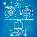 Selden Road Engine Patent Art 1895 Blueprint by Ian Monk