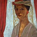 Self Portrait, 1906-7 by Paula Modersohn-Becker
