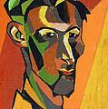 Self Portrait, 1913 by Henri Gaudier-Brzeska