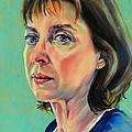 Self Portrait 2011 by Jolante Hesse
