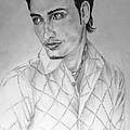 Self Portrait by Alban Dizdari