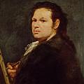 Self Portrait by Goya