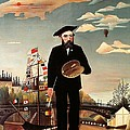 Self Portrait by Henri Rousseau