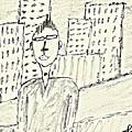 Self-portrait In Ny by Mario MJ Perron