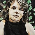 Self-portrait by Masha Batkova